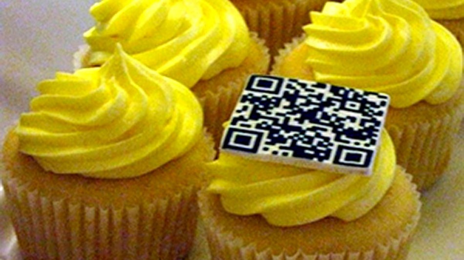 Top 9 - Putting QR codes on edible things